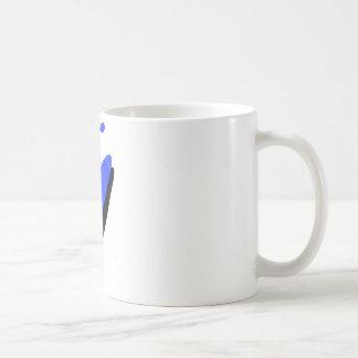 kayak Blue Basics Classic White Coffee Mug