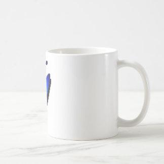 Kayak Blue Bays Classic White Coffee Mug