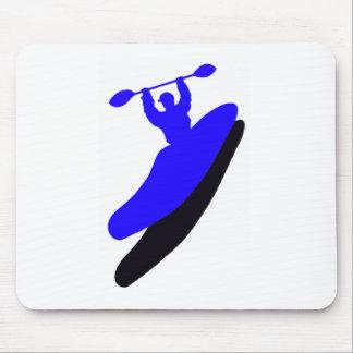 Kayak Blue Crush Mouse Pad