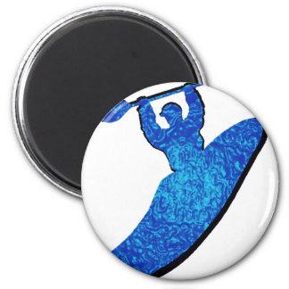 Kayak BLUES BOOF Magnet