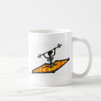 Kayak Bones Drifter Coffee Mug