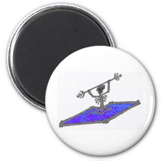 Kayak Bones Shifter` 2 Inch Round Magnet