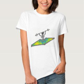 Kayak Bones Wavelength T-shirt