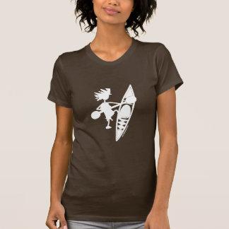 Kayak Canoe Joyful Silhouette T-Shirt