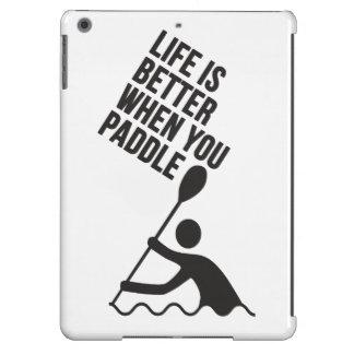Kayak canoe paddle design case for iPad air