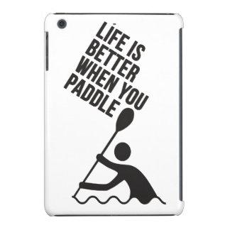 Kayak canoe paddle design iPad mini retina case