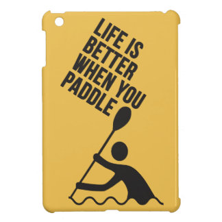 Kayak canoe paddle design iPad mini case
