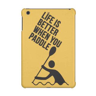 Kayak canoe paddle design iPad mini cover