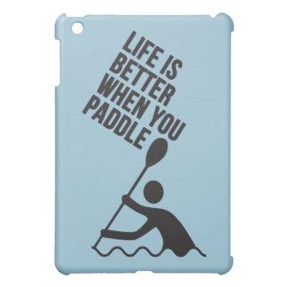 Kayak canoe paddle design iPad mini cases
