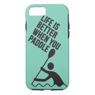 Kayak canoe paddle design iPhone 8/7 case