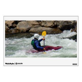 Kayak Challenge Wall Decal