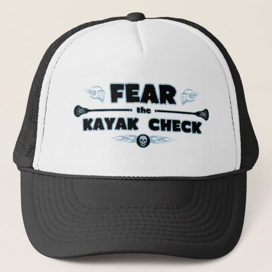 Kayak Check - blue Trucker Hat