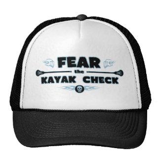 Kayak Check - blue Trucker Hat