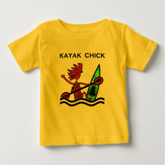 Kayak Chick Designs & Things Baby T-Shirt