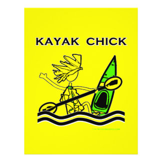 Kayak Chick Designs & Things Flyer