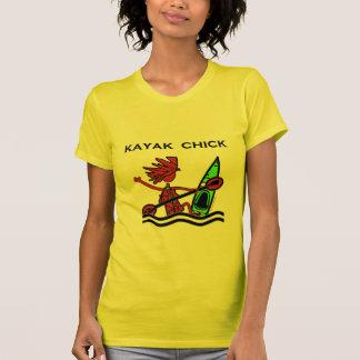 Kayak Chick Designs & Things Shirt