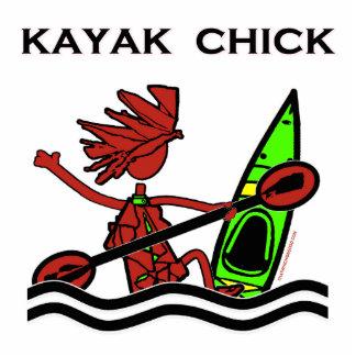 Kayak Chick Designs & Things Statuette