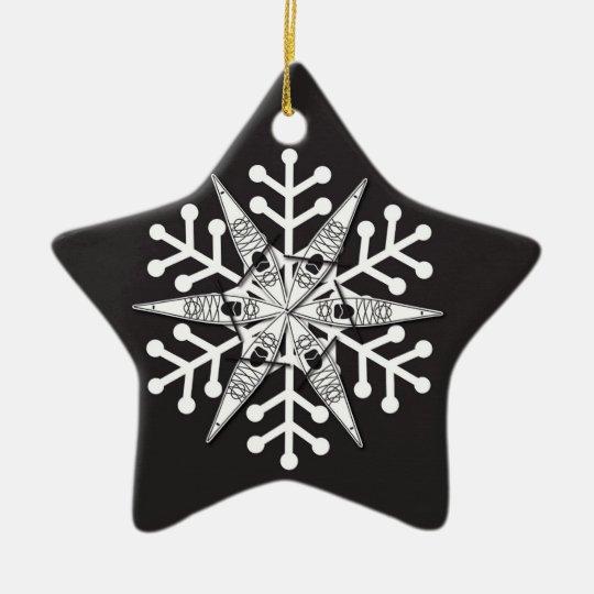 kayak Christmas ornament | Zazzle.com
