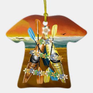 Kayak Christmas Tree - Tropical Christmas Ornament