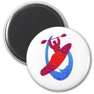 Kayak colorado dreamscape 2 inch round magnet