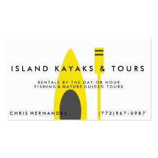 Kayak Company o tarjeta de visita de los viajes