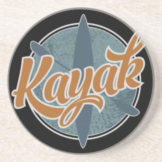 Kayak Emblem Coaster