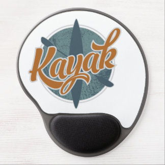 Kayak Emblem Gel Mouse Pad
