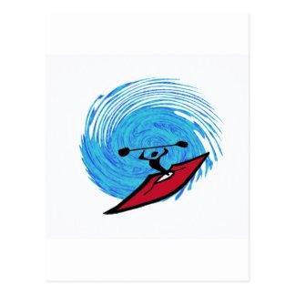 kayak Eternity Hole Post Card