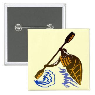 Kayak Excitement Pin