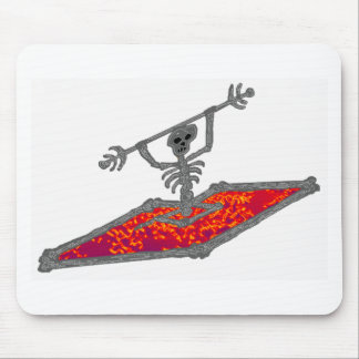 Kayak fire one mouse pad