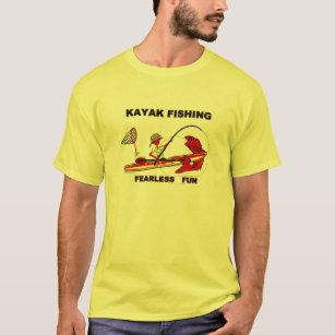 157ba680 Kayak Fishing T-Shirts - T-Shirt Design & Printing   Zazzle