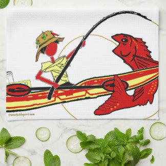 Kayak Fishing Hand Towels