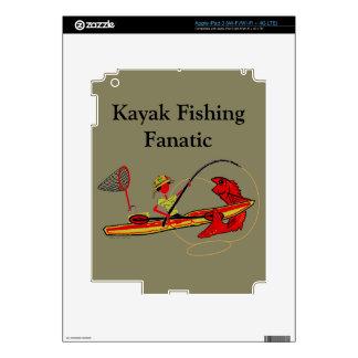 Kayak Fishing iPad 3 Decals