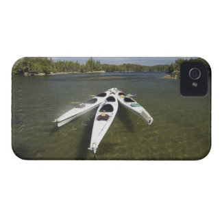 Kayak Fleet at Rest During Late Afternoon at iPhone 4 Case-Mate Case
