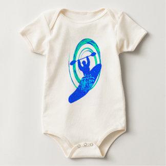 Kayak Florida Keys Baby Bodysuit