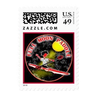 Kayak Full Moon Paddle Stamps