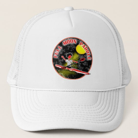 Kayak Full Moon Paddle Trucker Hat