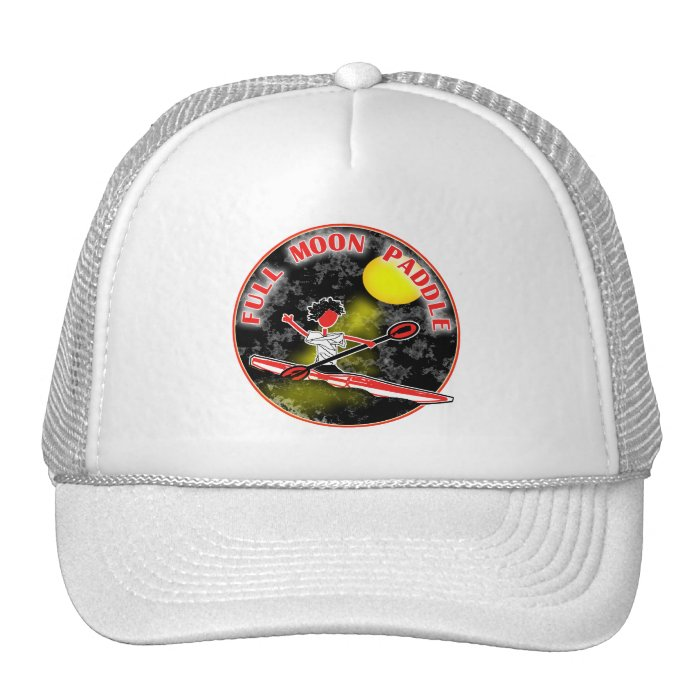 Kayak Full Moon Paddle Trucker Hat