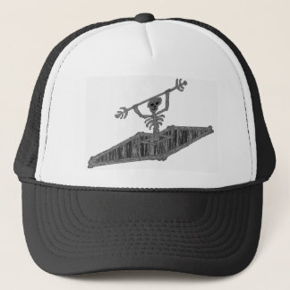 Kayak Hazy Bones Trucker Hat