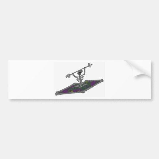 kayak high points bumper sticker