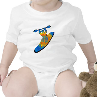 Kayak Hipped Out Baby Bodysuits