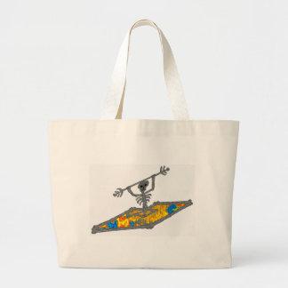 Kayak Hippie Bones Canvas Bag