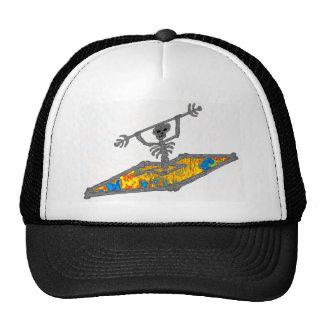 Kayak Hippie Bones Trucker Hat