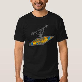 Kayak Hippie Bones Tee Shirts