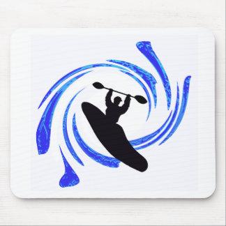 Kayak Hole Bustinnnnnnnnnn Mouse Pad