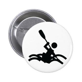 kayak icon pinback buttons