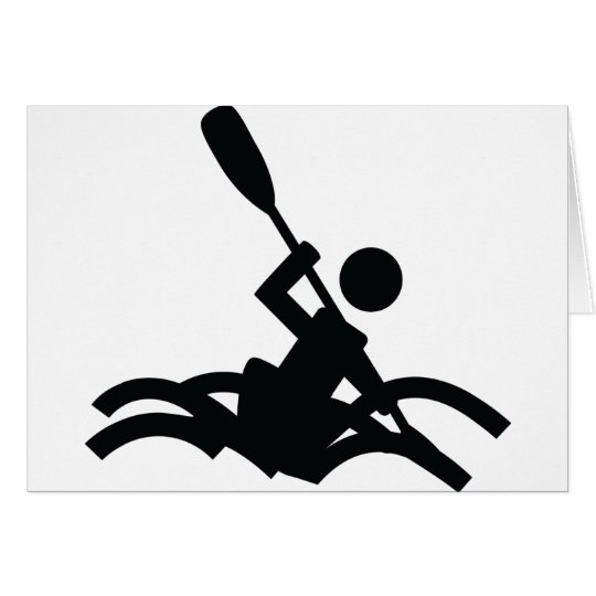 kayak icon card