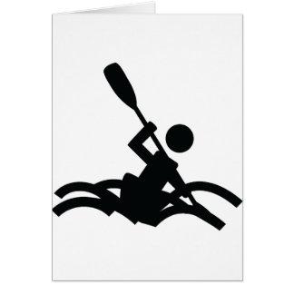 kayak icon card