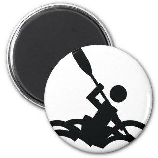 kayak icon magnet