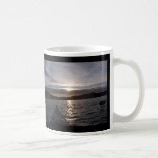 Kayak in Sunset Classic White Coffee Mug